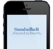 Sund og Bælt mobilt website
